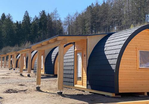 Tiny Haus >>Goslar<< - Die Farbe der Dacheindeckung kann individuell festgelegt werden