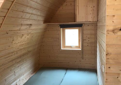 Doppelbett im Tiny Haus >>Goslar<<
