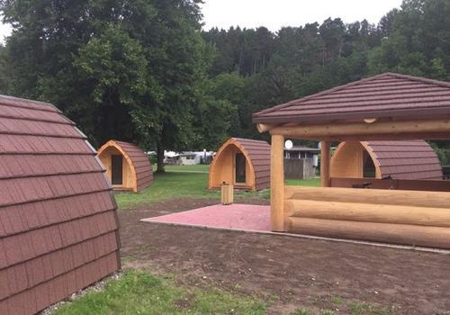 Tiny Haus - Ideal zur Vermietung auf Campingplätzen