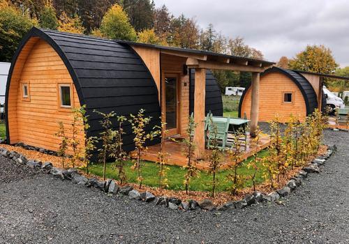 Tiny Haus mit kleinem Garten